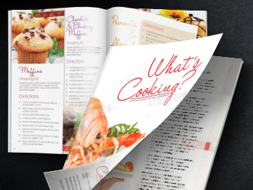 whats cooking magazine template
